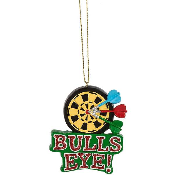 Bulls Eye Ornament
