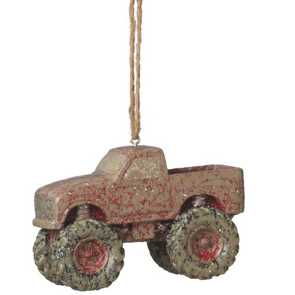 Mudder Truck Ornament