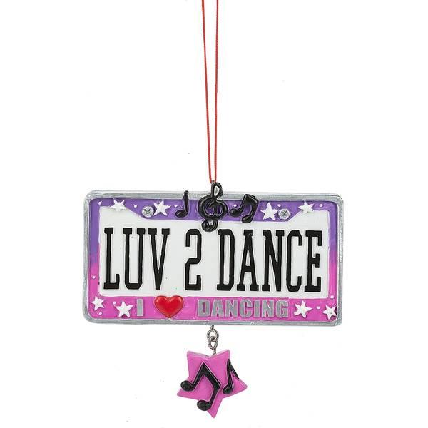 LUV 2 Dance Ornament