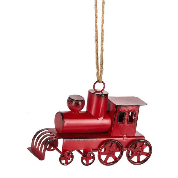 Red Train Ornament