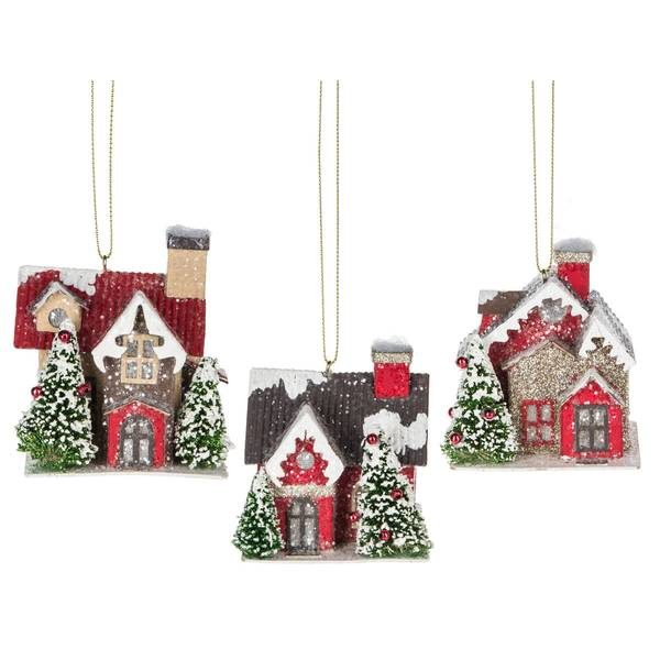 House Ornament Assorted