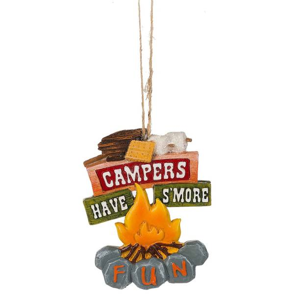 Campers Have S'more Fun Ornament