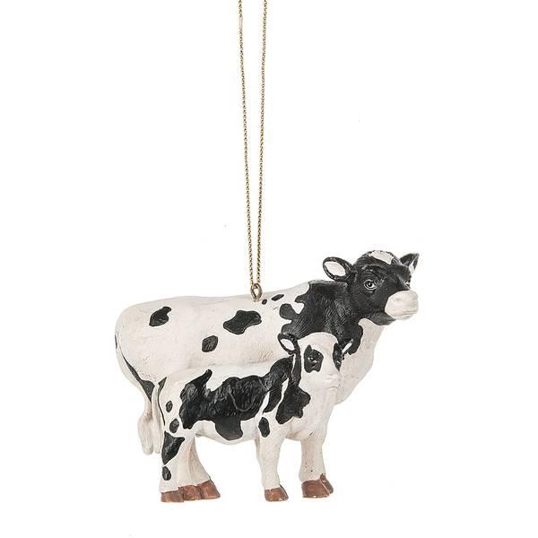 Cow & Calf Ornament