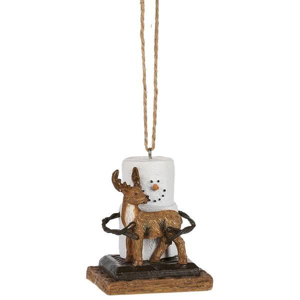 S'mores Deer Ornament