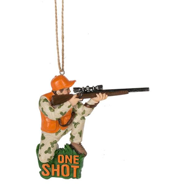 One Shot Hunting Ornament