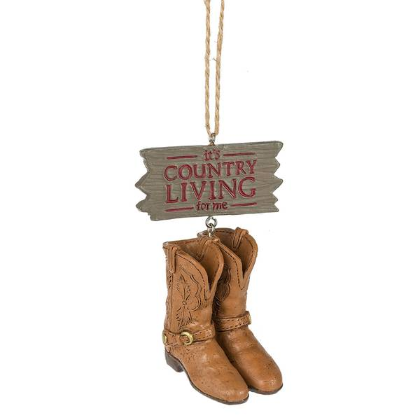 Country Living for Me Ornament