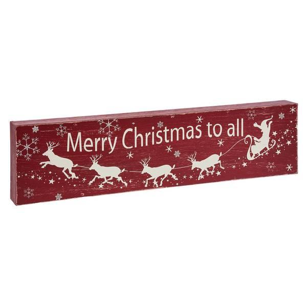 Merry Christmas to All Wall Decor