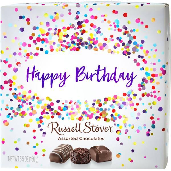 Happy Birthday Box Assortment Chocolates