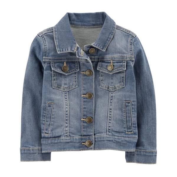 Toddler Girl's Denim Jacket