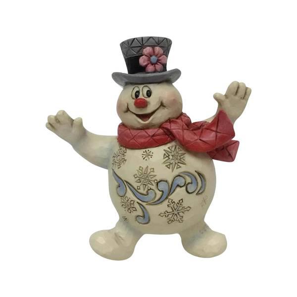 Jolly Frosty Ornament