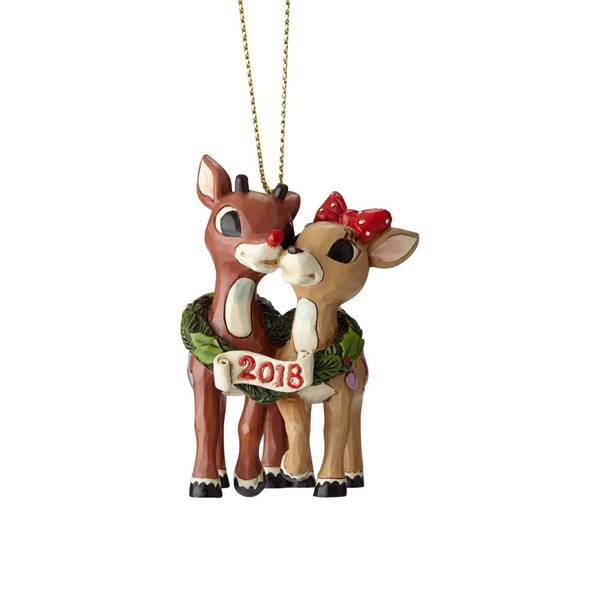 Rudolph & Clarice Ornament