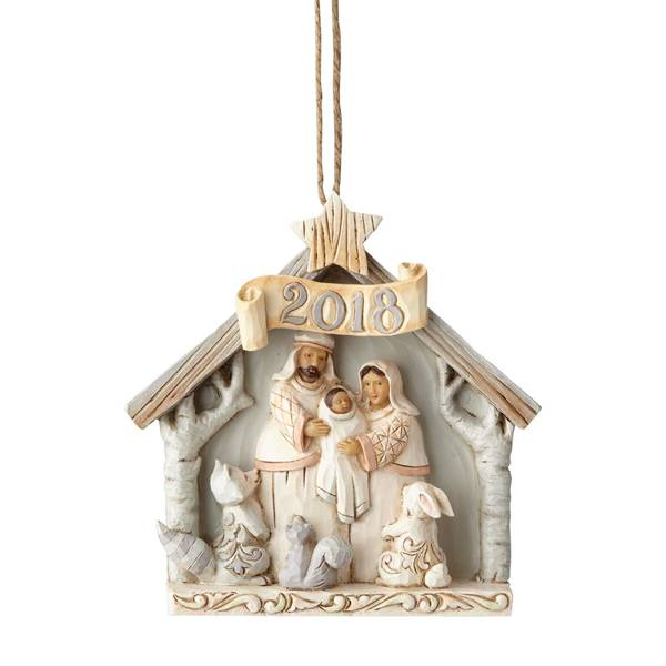 Woodland Nativity 2018 Ornament