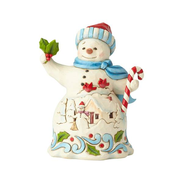 Pint Snowman with Candy Figurine