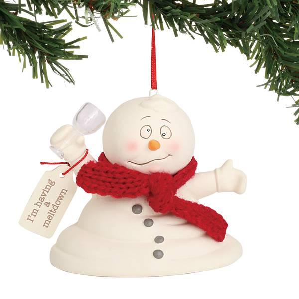 Snowpinions I'm Having a Meltdown Ornament