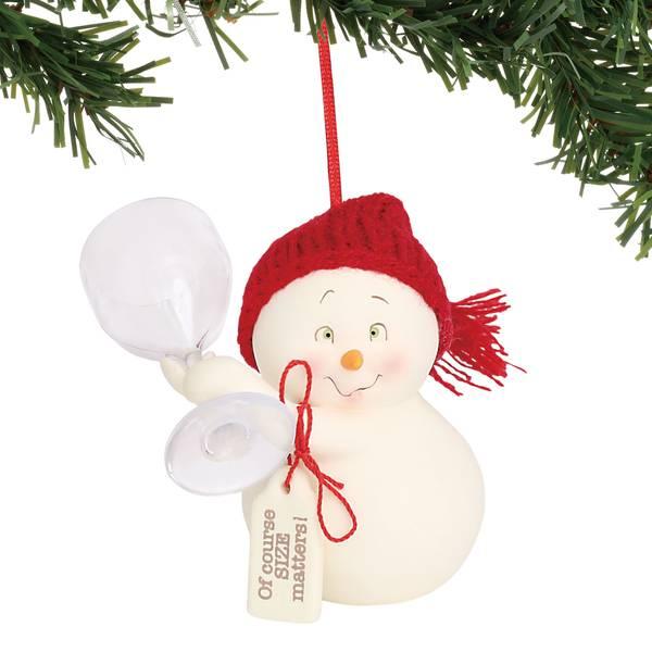 Snowpinions Size Matters Ornament