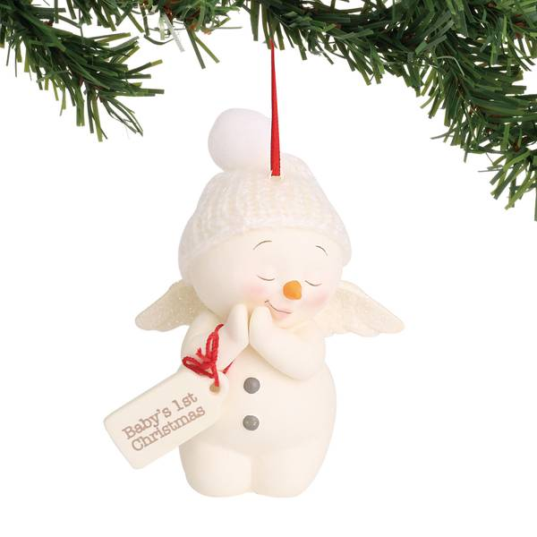 Snowpinions Baby's First Ornament