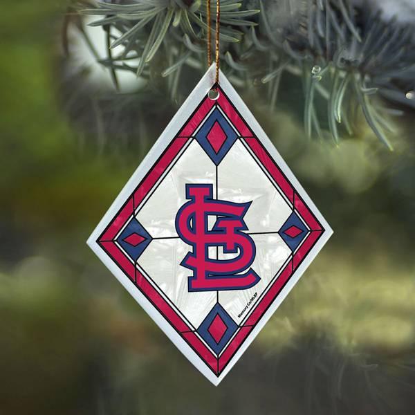 St. Louis Cardinals Art Glass Ornament