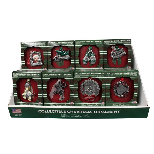 Pewter Traditional Collectable Ornament Assorted