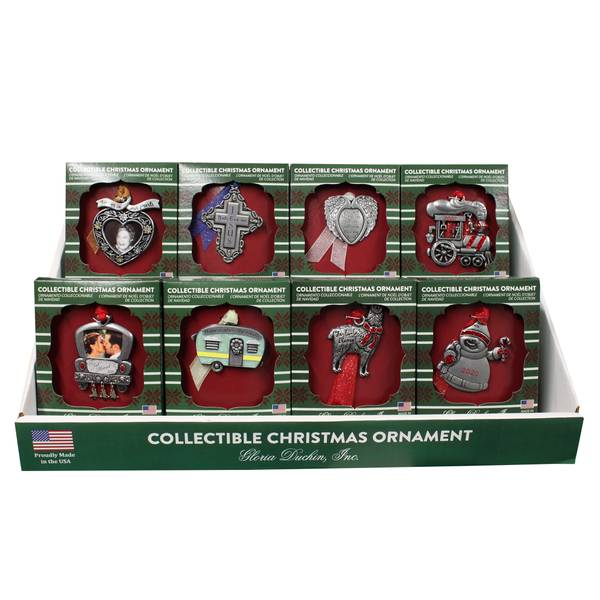 Pewter Inspirational Collect Ornament Assorted