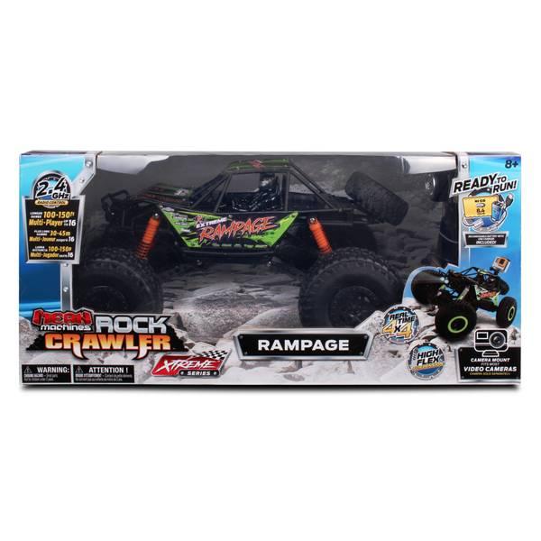 RC 1:10 Xtreme Rock Crawler Rampage Black