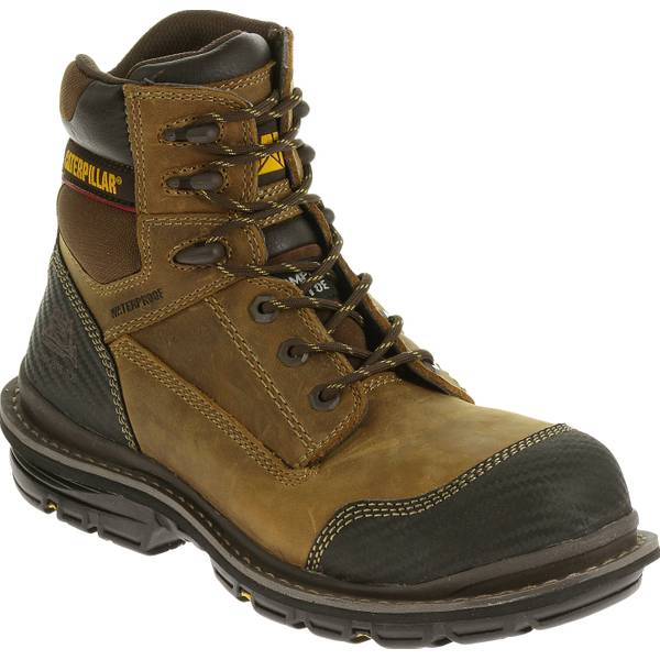 Men's Brown Fabricate Composite Toe Work Boots