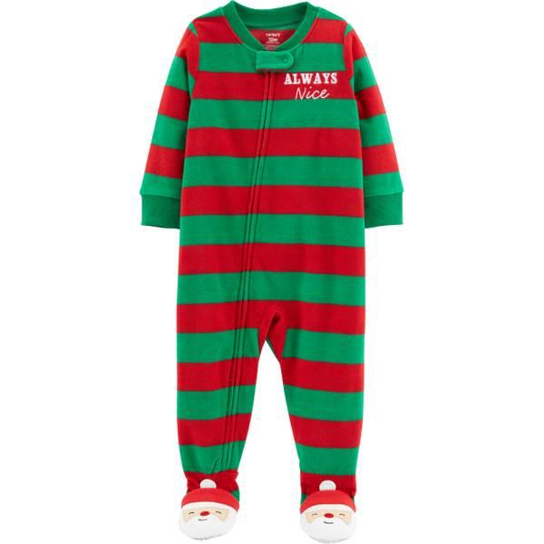 infant boys christmas pajamas red green