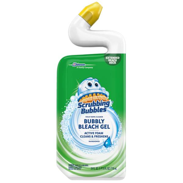 Bubbly Bleach Gel Toilet Bowl Cleaner