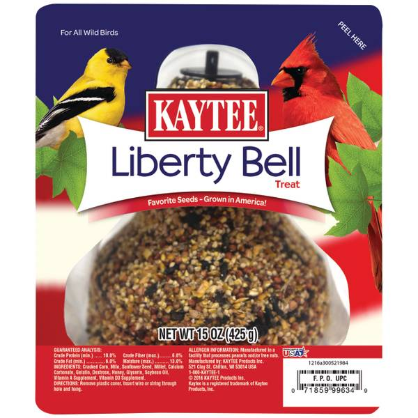 15oz Kaytee Liberty Bell