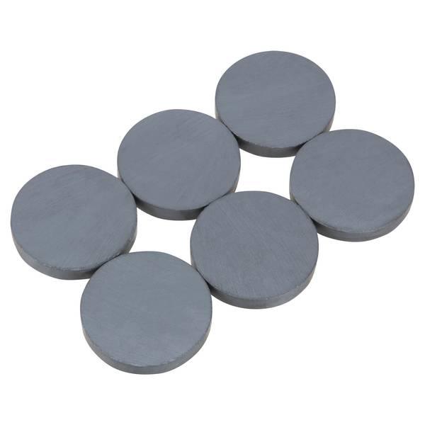 6-Piece Ceramic Disc Magnets