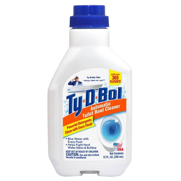 TLT BWL CLR12OZ LQD BLUE by TY-D-BOL MfrPartNo 365002.6