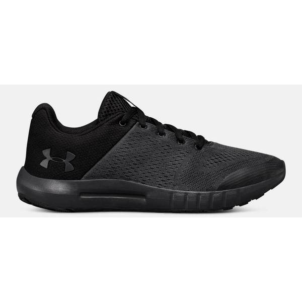 Boy's Anthracite & Black Grade School Pursuit Running Shoes