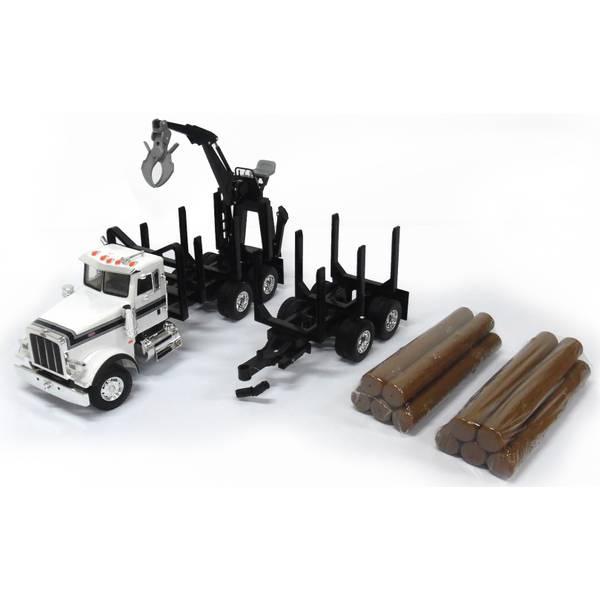 1:16 BF Peterbilt 367 Log Truck with Trailer