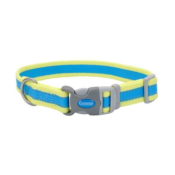 "1""x18-26"" Pro Reflect Aqua/Yellow Collar"