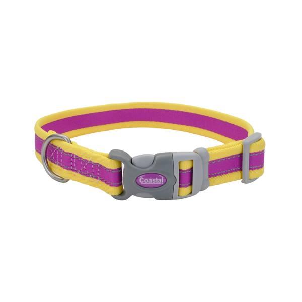 """3/4""""x10-14"""" Pro Reflect Purple/Yellow Collar"""