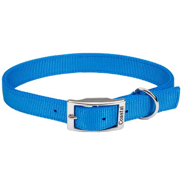 "1""x22"" Double Ply Blue Lagoon Nylon Collar"