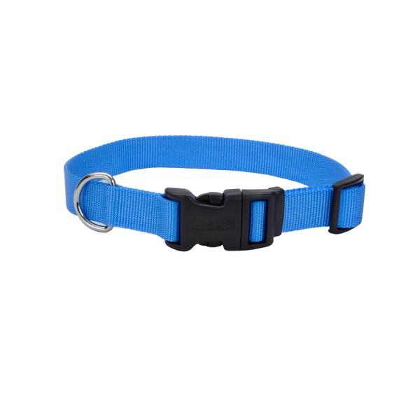 "3/8""x8-12"" Blue Lagoon Nylon Collar"