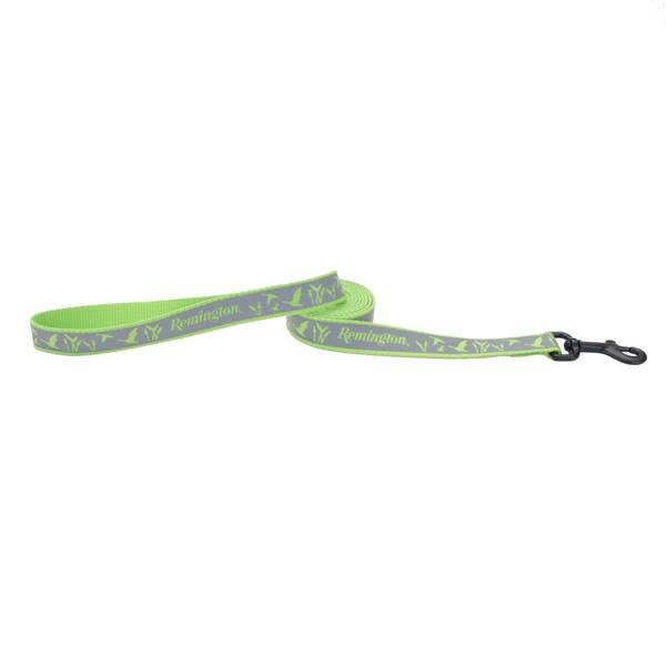 "1""x6' Remington Reflective Lime Duck Leash"
