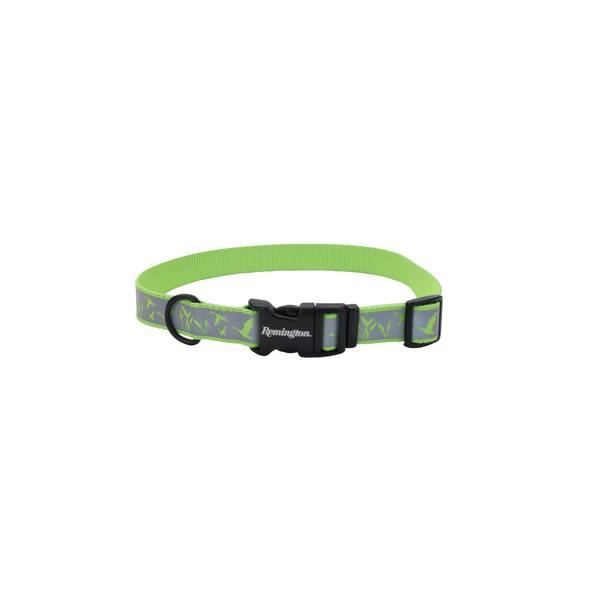"1""x18-26"" Remington Reflective Lime Duck Collar"