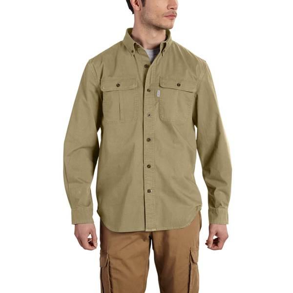 Men's Long Sleeve Foreman Work Shirt