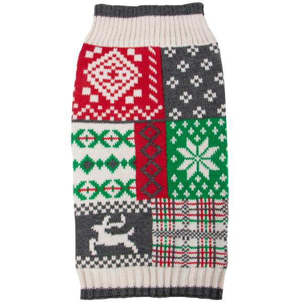 Holiday Patch Sweater