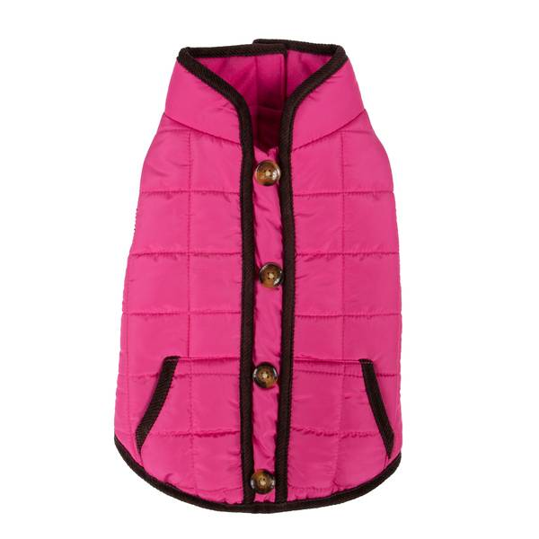 Purple Square Quilted Bomber Jacket