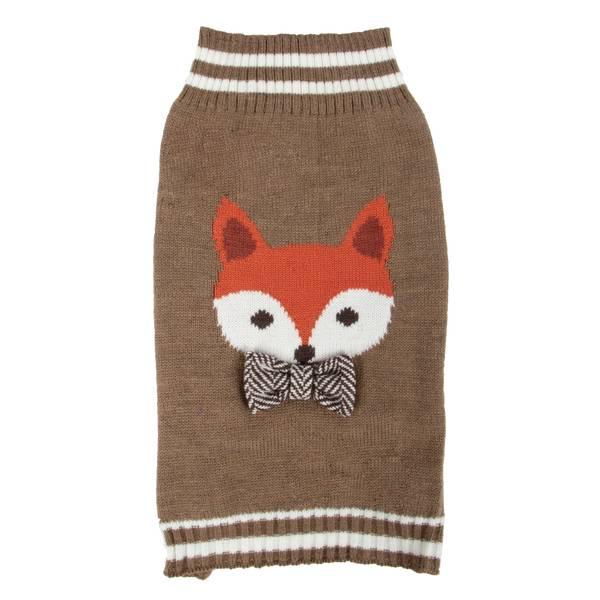 Brown Fox Bowtie Sweater