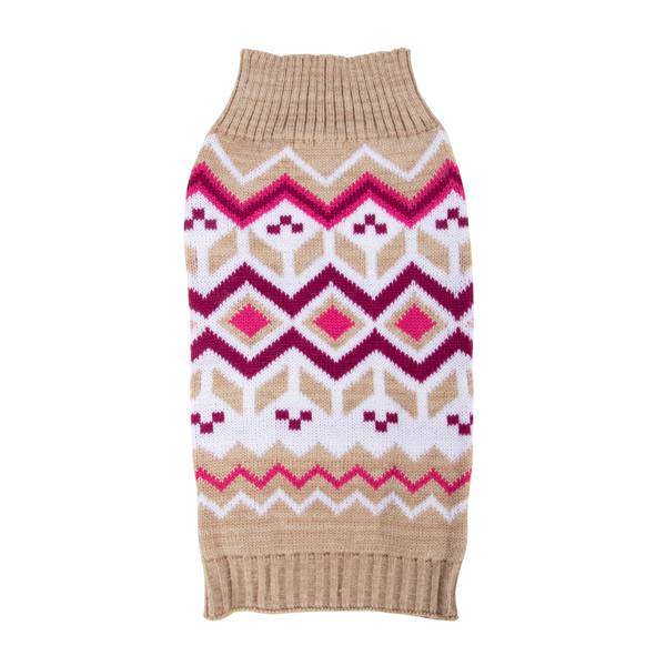 Oatmeal Diamonds Fair Isle Sweater