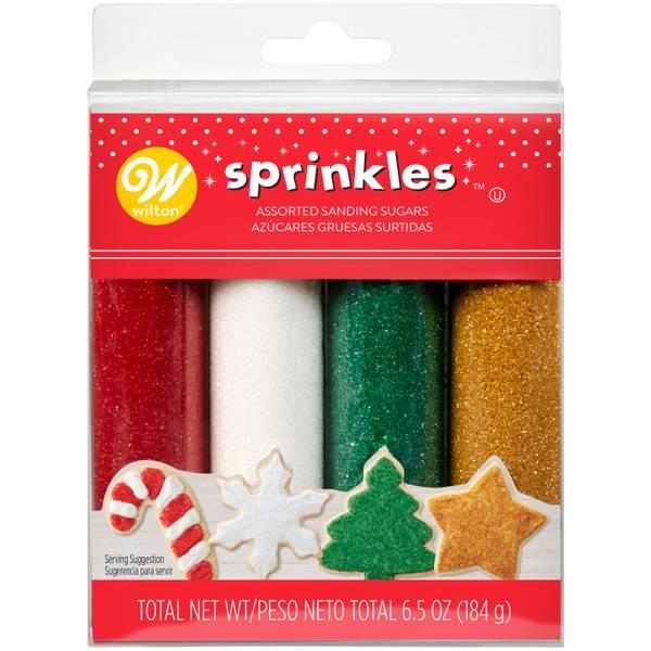 4-Pack Holiday Sugar Sprinkle Set
