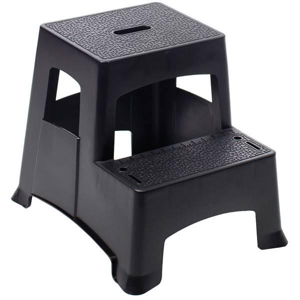 Tricam 2 Step Plastic Step Stool