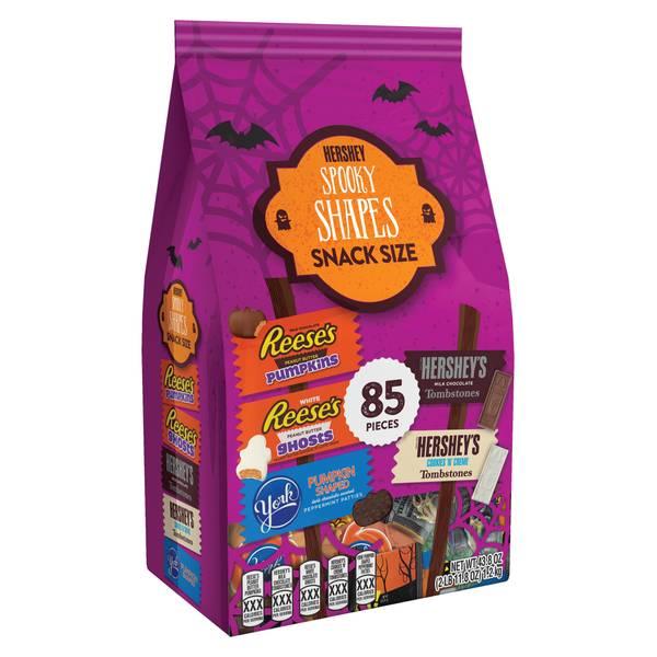 85-Piece Spooky Shapes Snack Size Bag