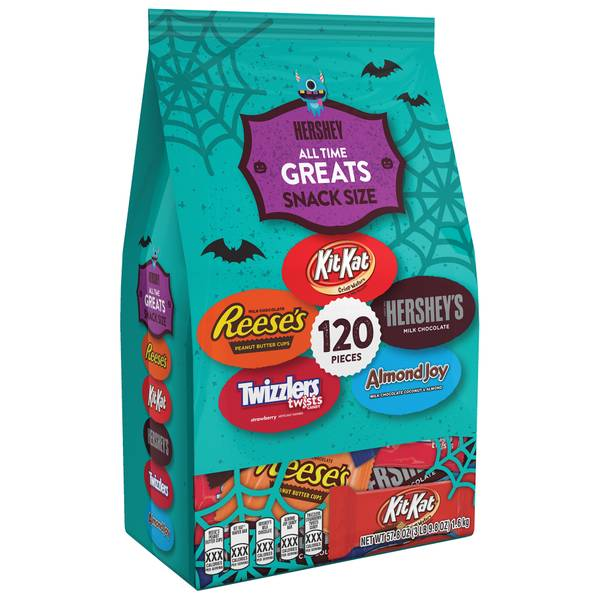 120-Piece All Time Greats Snack Size Bag