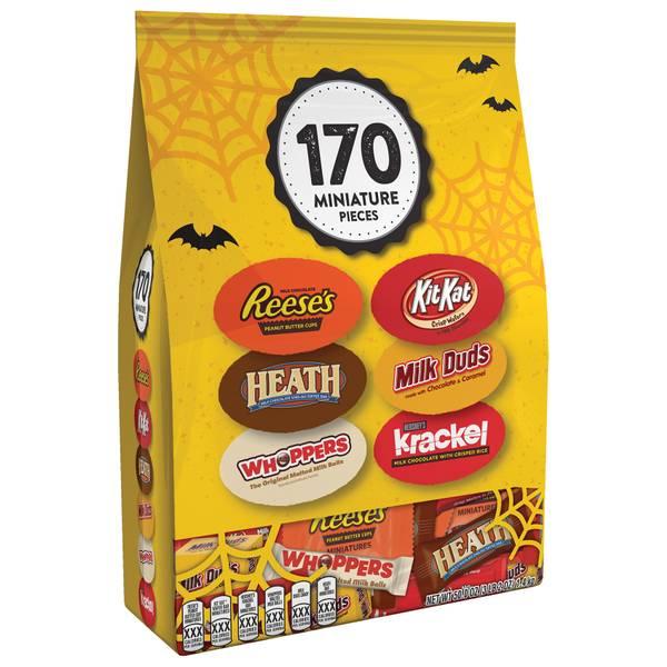 170-Piece Chocolate Miniature Pieces Bag