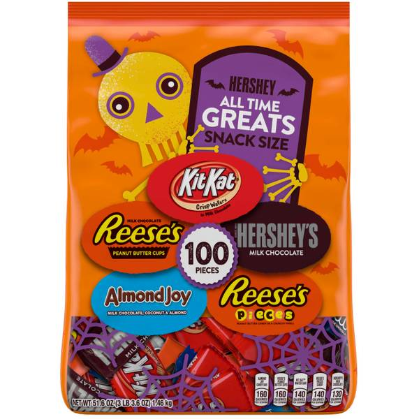 100-Piece All Time Greats Snack Size