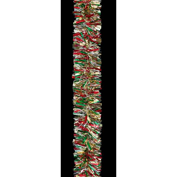 10' Red/Green/Gold Deluxe Garland